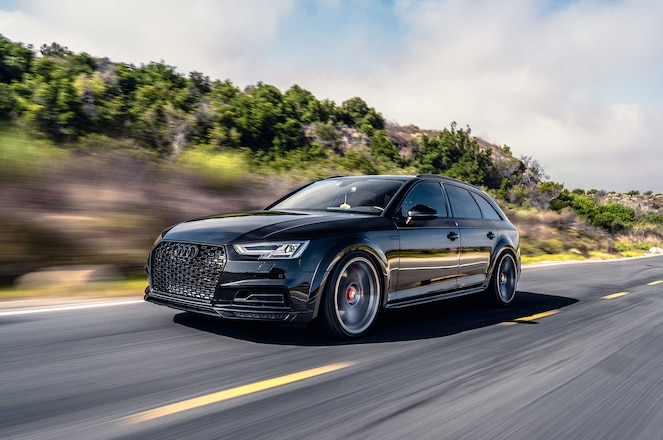 The Ultimate Allroad: Audi Hasn't Brought A Turbocharged S4 Wagon To The States In Over 10 Years, So Pacific German Built One!