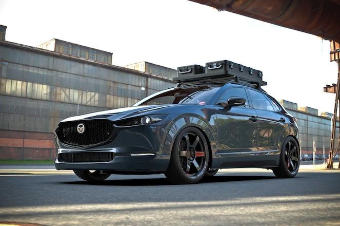 Jon-Sibal-2020-Mazda-CX-30-Driver-Side-Front-View