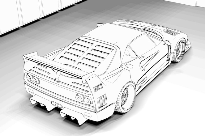 Cool Cars Coloring Pages - GetColoringPages.com | 440x663