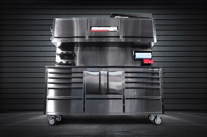 OEMTOOLS' 11-Drawer Toolbox & Cabinet Combo Is The First Step In Getting Your Home Garage Organized