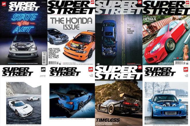 Super-Street-Honda-Covers
