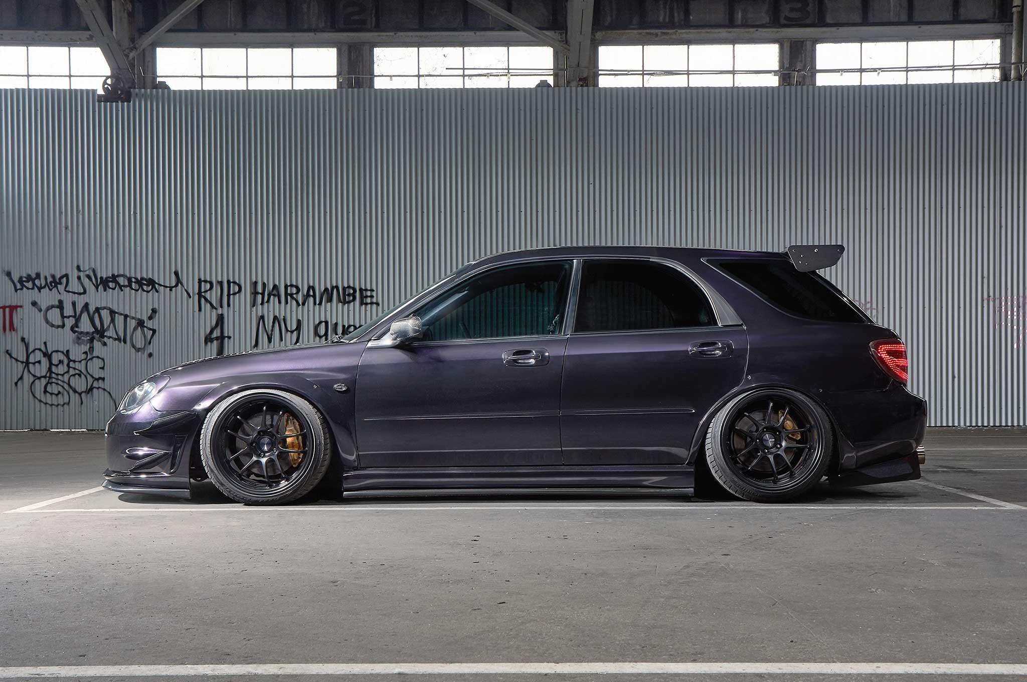 Sti Ed Subaru Impreza Wagon