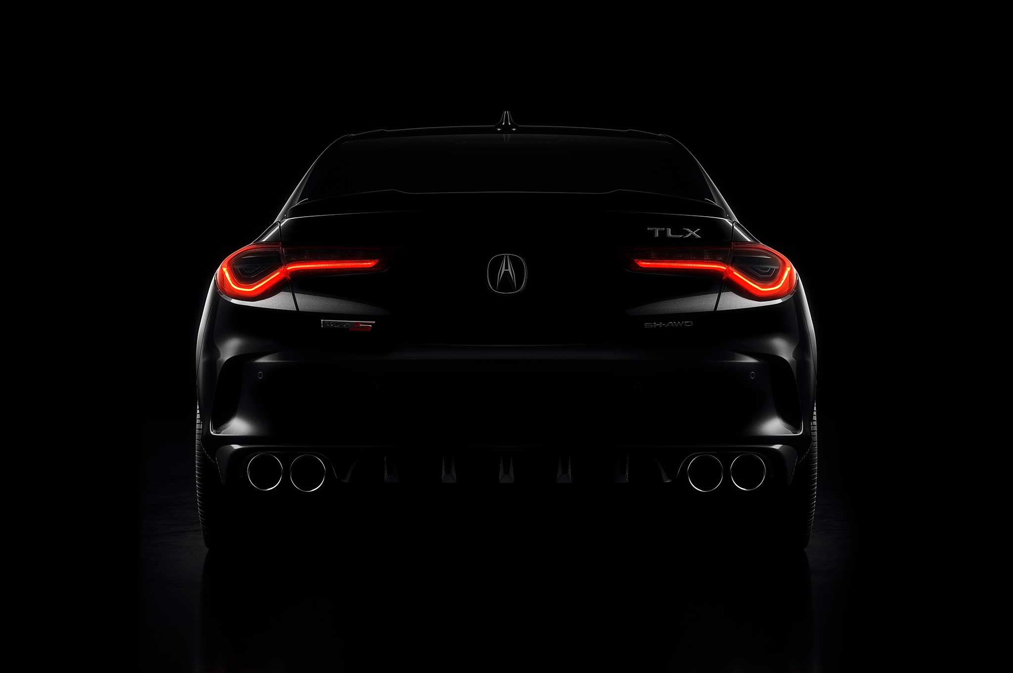 Acura Teases Booty Of The New Turbo V6 Awd 2021 Tlx