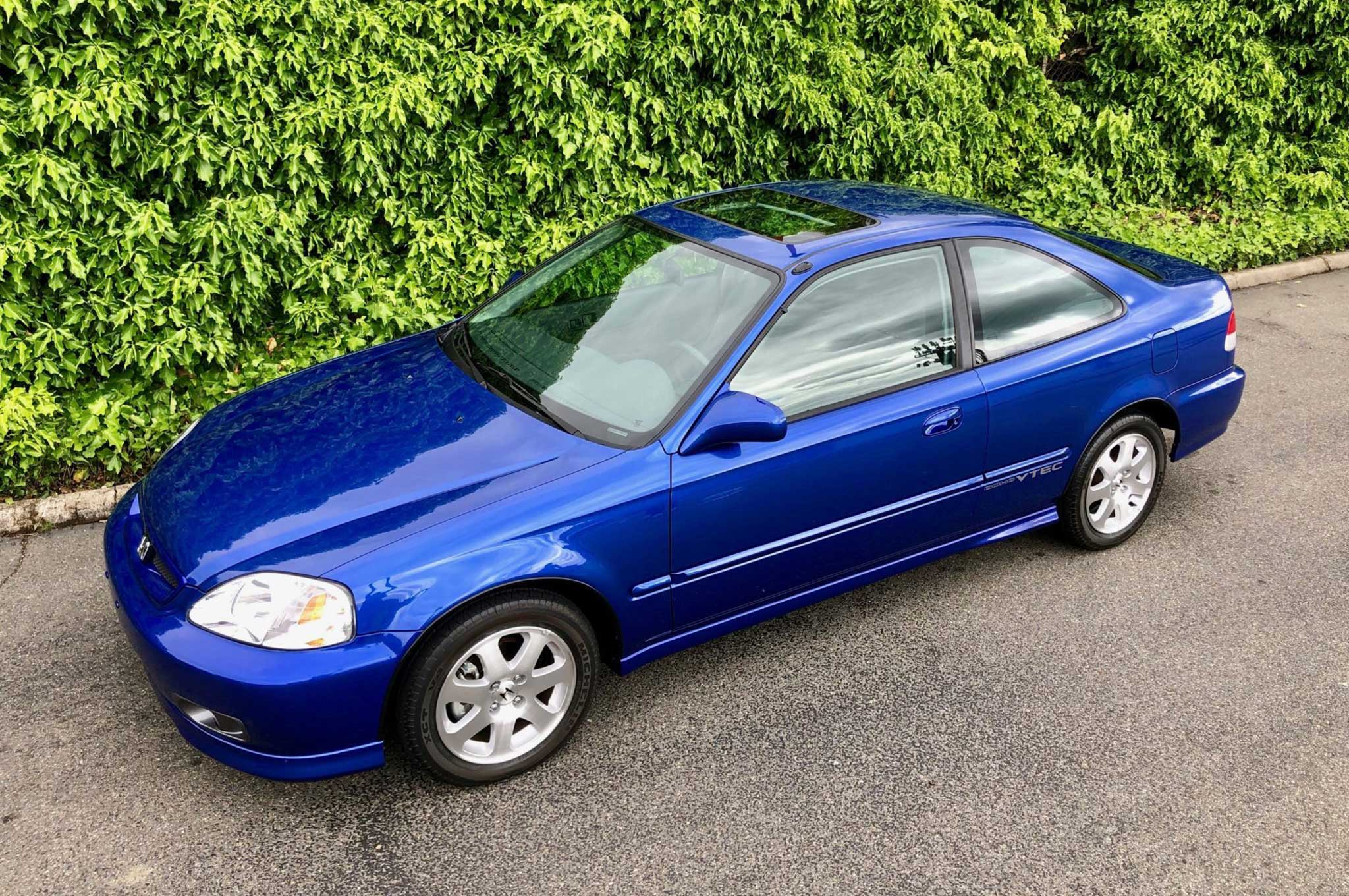 20 Year Old Honda Civic Si Sells For 50 000