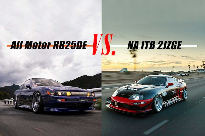 #SSBattles Inline-6 Naturally Aspirated Warfare: MkIV Toyota Supra vs. RB25-Swapped Nissan S13