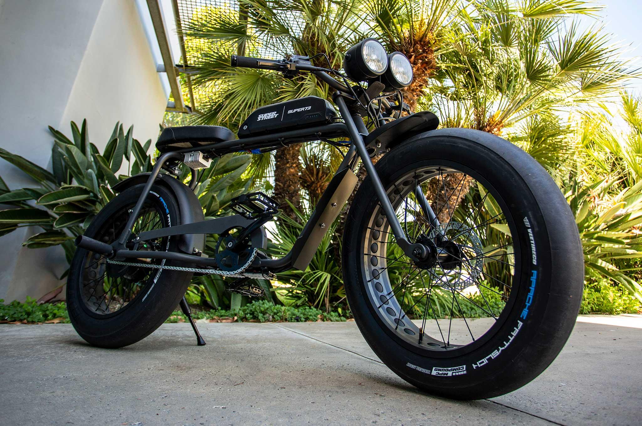 Super73 Electric Bike Cafe Racer Collab