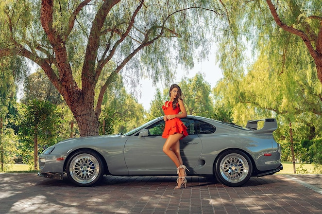 Toyota Tales With Toyo Tires 2020 Calendar Model Bryn & Peter Vong's 700HP Mk4 Supra