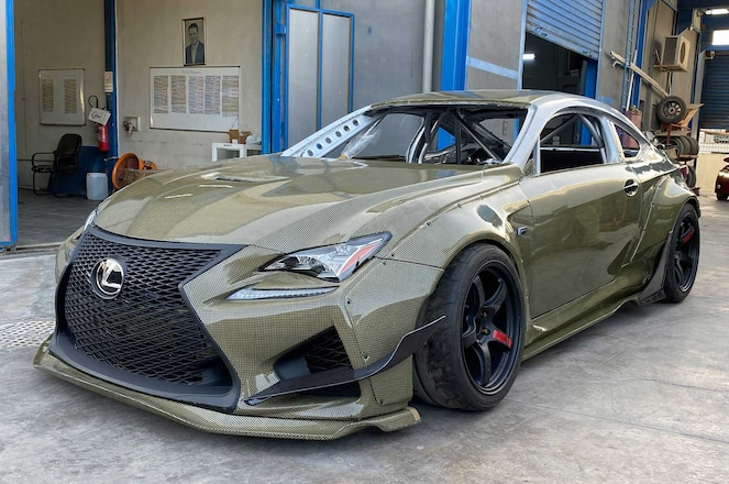 2019-Lexus-RC-F-Custom-Carbon-Fiber-Rocket-Bunny-Body-Kit-01