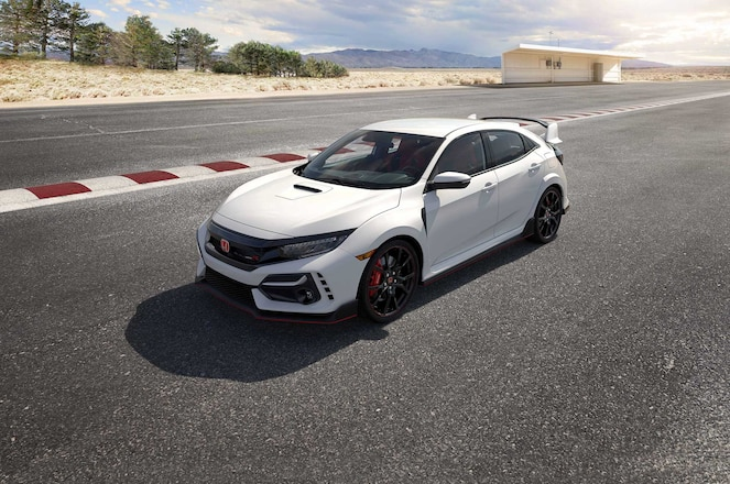 Honda-Civic-Type-R-High-Driver-Side-Front-View