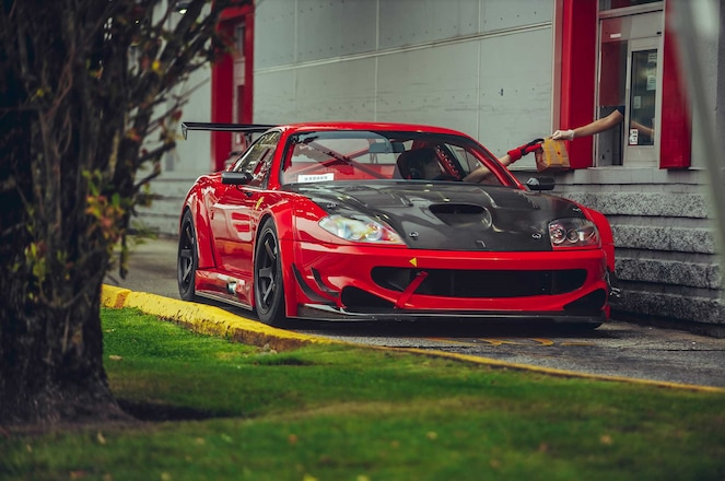 Ferrari 550 Maranello V12 Race Car Built By legendary JDM GT-R Shop Relocates To Canada