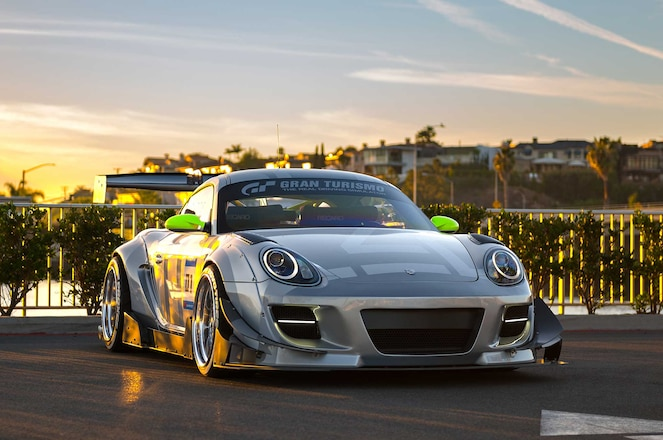 Porsche Cayman S Widebody Is The Winner Of The Hot Wheels Legends Tour: Round 5