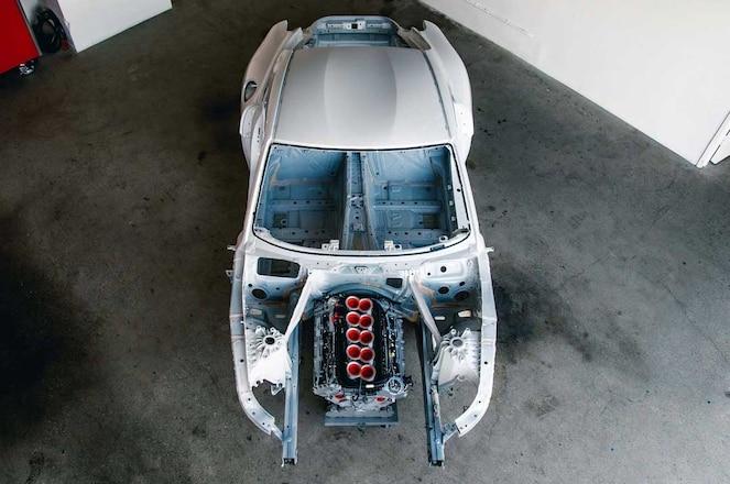 Ryan-Tuerck-JUDD-V-10-A90-Supra-Build-Overhead-View