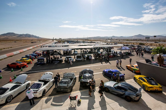 100+ Photo Gallery Of All-Toyota Supra Car Show In Las Vegas