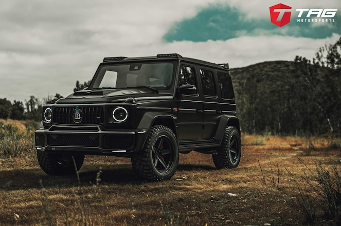 TAG Motorsports Creates The Ultimate BRABUS AMG G63
