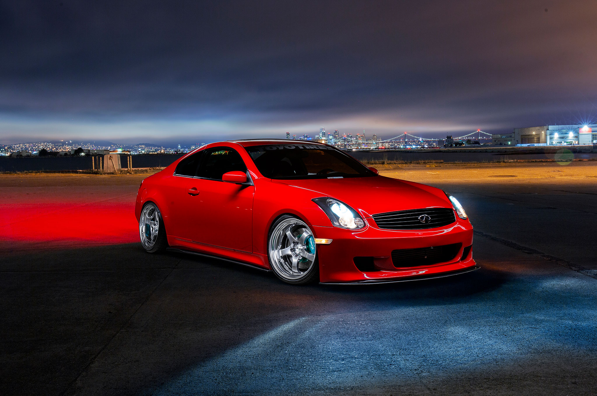 Supercharged 2003 Infiniti G35 Coupe