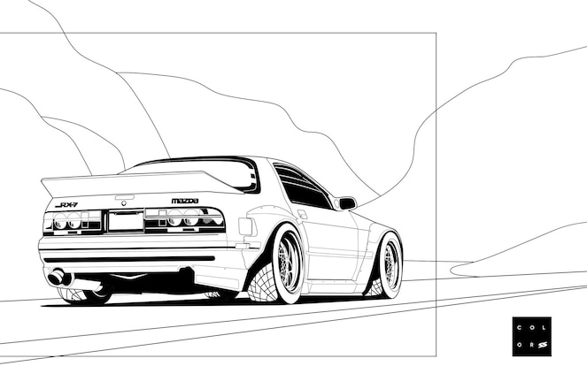 SS-Coloring-Pages-RX7