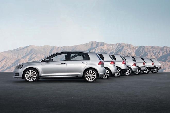 Volkswagen Golf - Generation one to seven