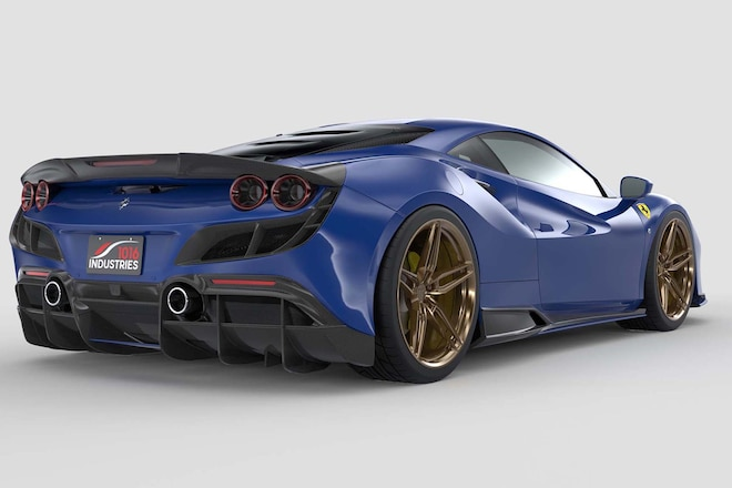 1016-ferrari-f8-3d-kit-blue-rendering-rear-side-angle-view