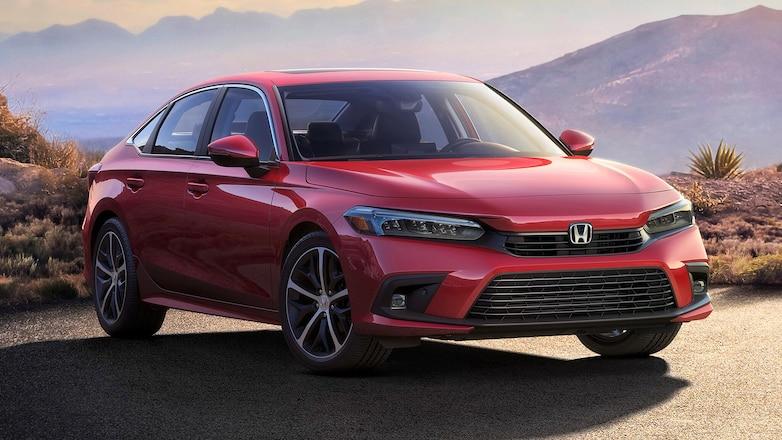 11th gen. Honda Civic Production Car