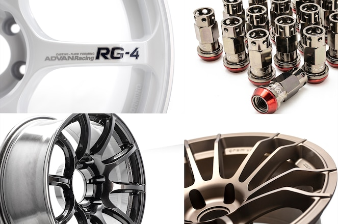 Mackin Industries provides the JDM goods from Advan Racing, Rays gramLIGHTS, Muteki, and more.