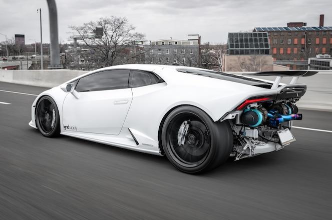 This Twin Turbo Lamborghini Huracan Evo is Pure Insanity