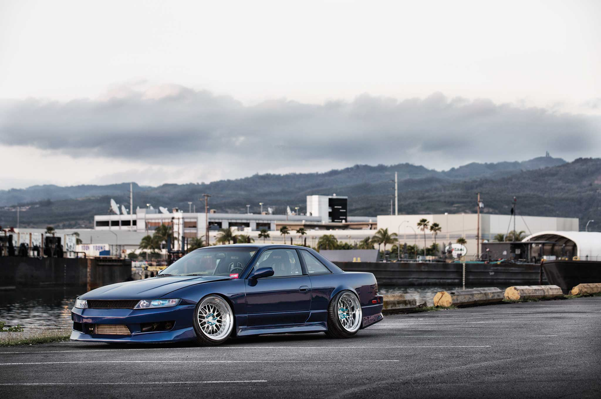Turbocharged Nissan 240sx With Odyvia Front End From Hawaii