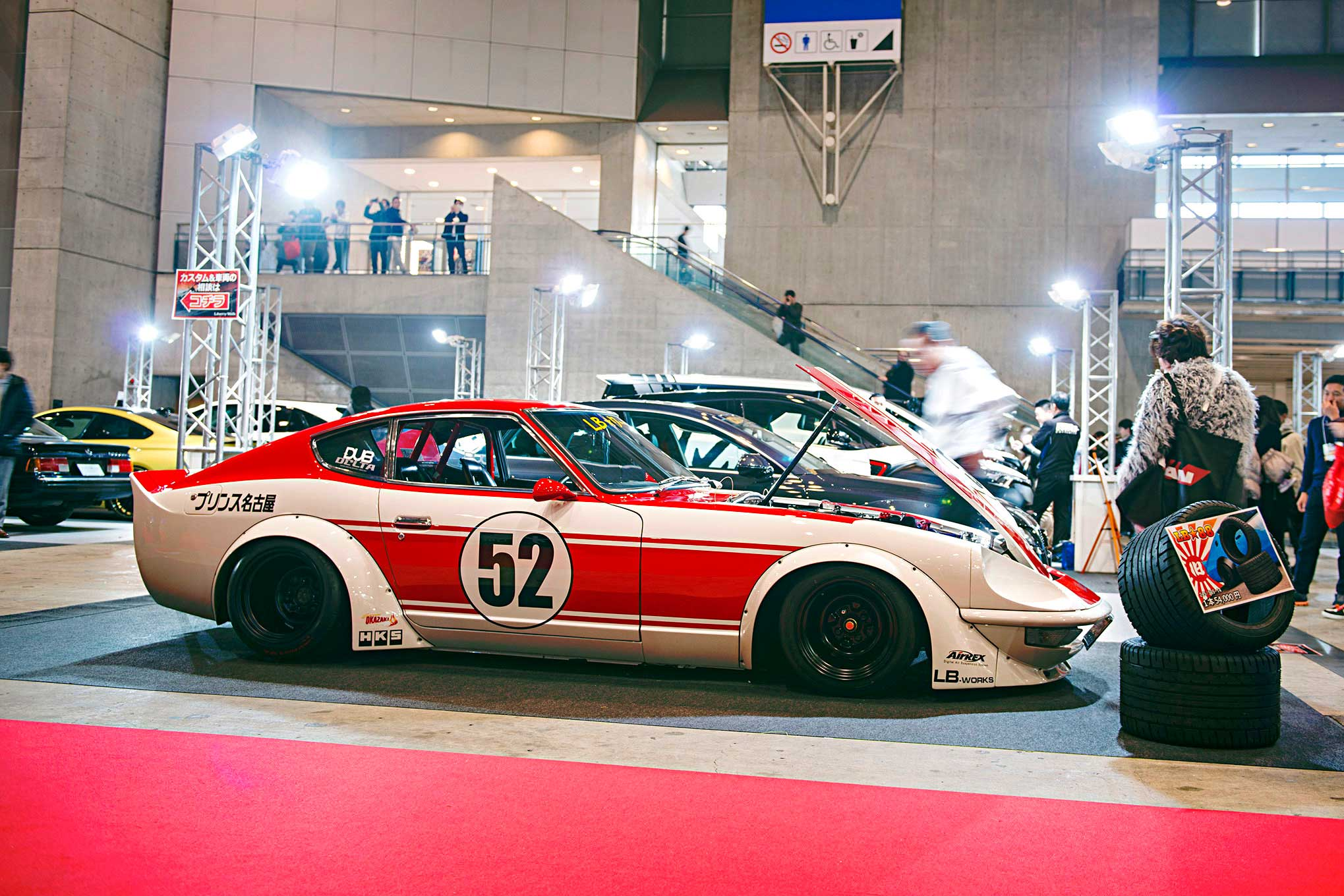 Nissans Invade Tokyo Auto Salon 2017