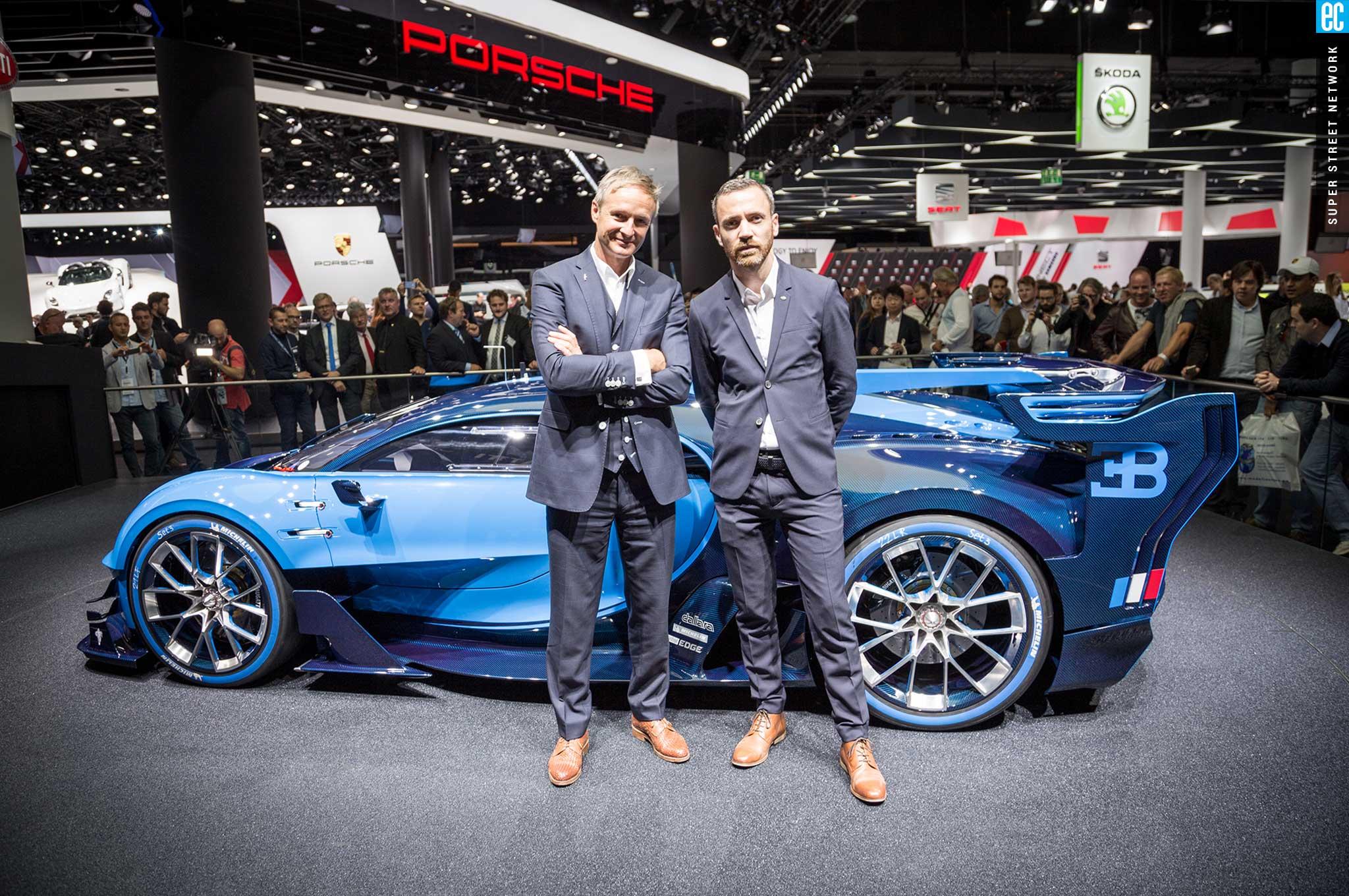 2016 Bugatti Vision Gran Turismo Concept Car