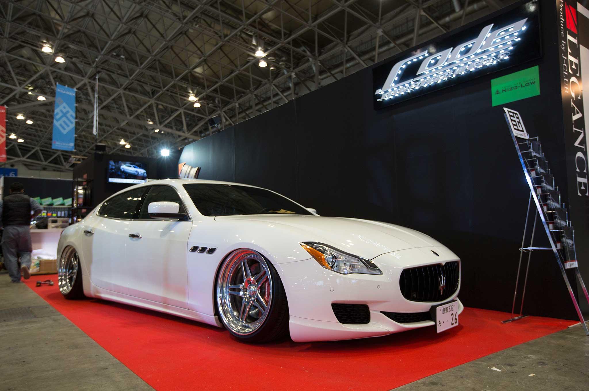 Maserati Quattroporte GTS - Tokyo Auto Salon 2017