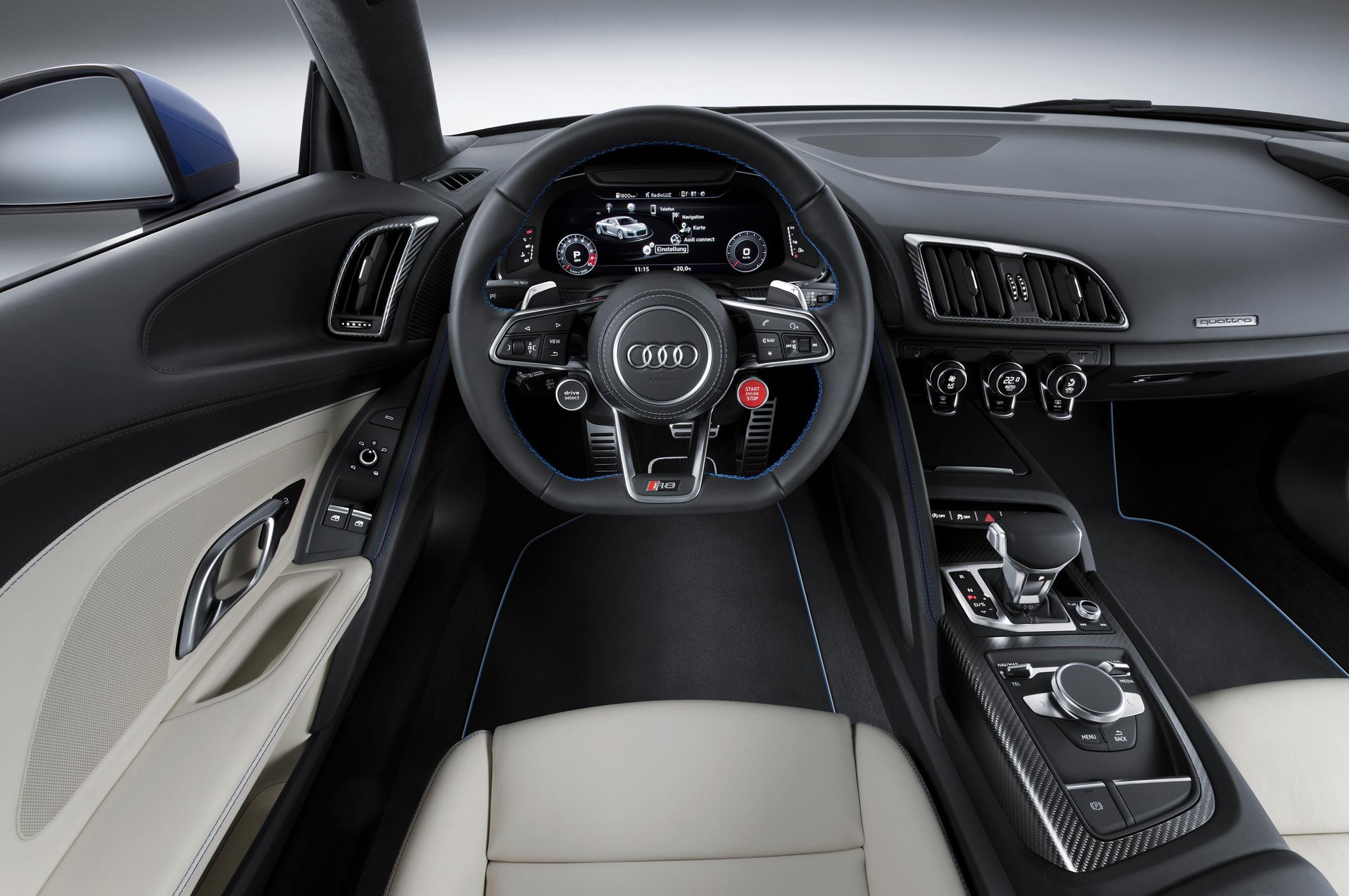 2017 Audi R8 V10 E Tron Is Fastest